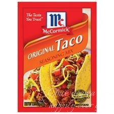 Taco seasoning packet
