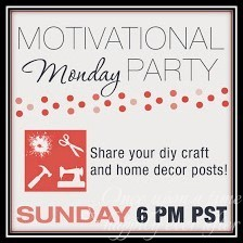 I Love You Because DIY:  Motivational Monday Link-Up and Anything Goes Party