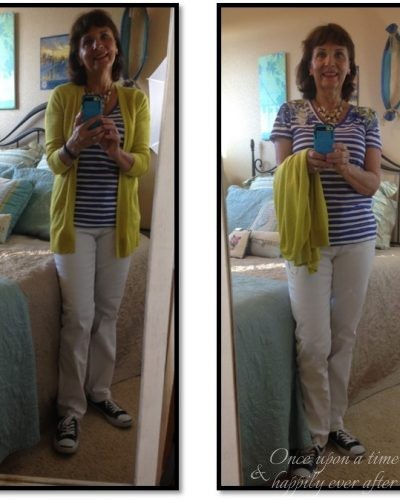 My Fashion Haus: A Navy and Nautical Stripe Look Update