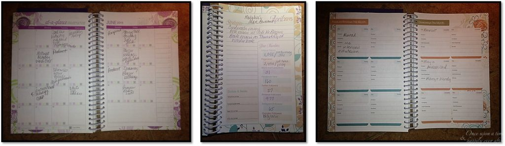 Keeping track of life.