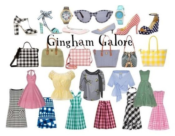 Create28 Week 4 Gingham Galore