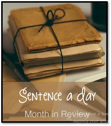 Sentence a Day Link-Up: 5.2016