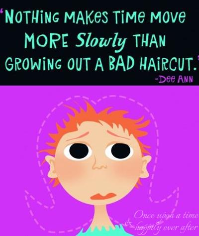 Scissor-Me-Timbers:  Surviving a Bad Haircut