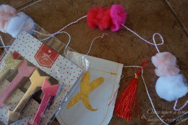 DIM: Creating an Simple Valentine Garland