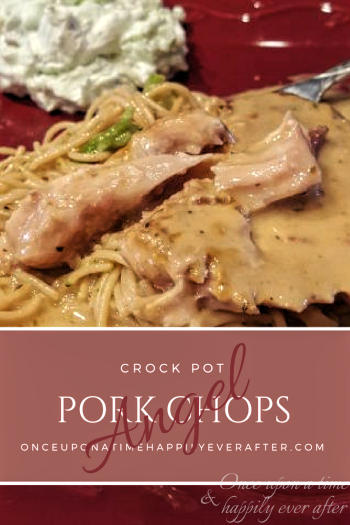 Tasty Tuesday: Slow Cooker Angel Pork Chops