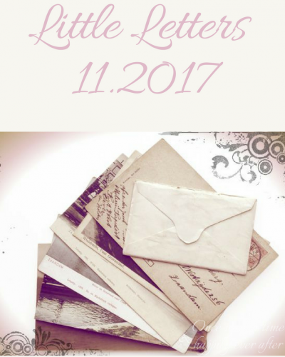Little Letters, 11.2017 and Christmas Cash Giveaway