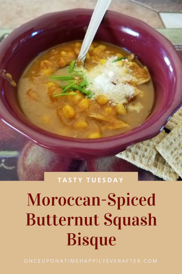 Tasty Tuesday: Moroccan-Spiced Butternut Squash Bisque