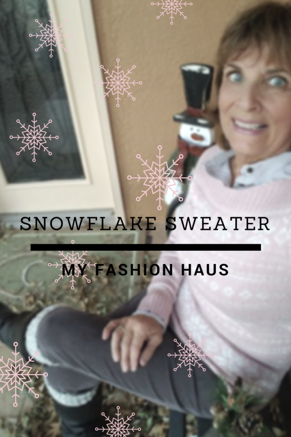 My Fashion Haus: Snowflake Sweater