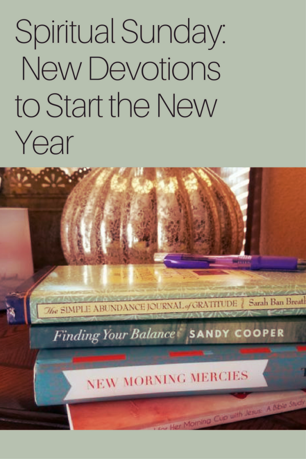 Spiritual Sunday: New Devotions to Start the New Year