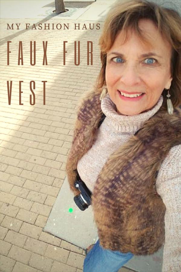 My Fashion Haus: Faux Fur Vest