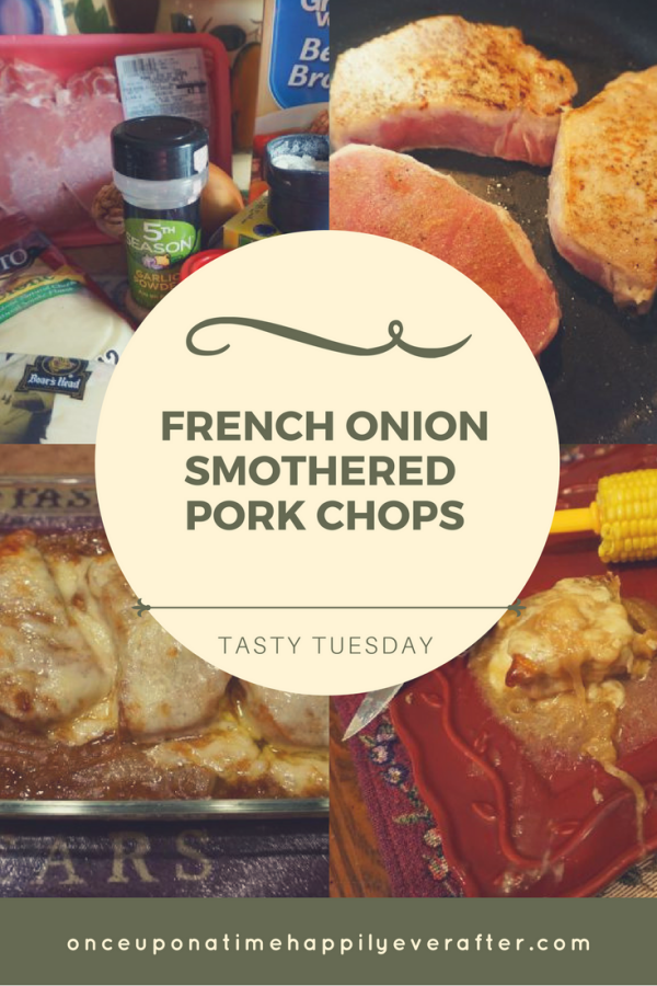 Tasty Tuesday: French Onion Smothered Pork Chops