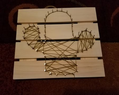 DIM, Did It Myself: Pinspired Cactus String Art