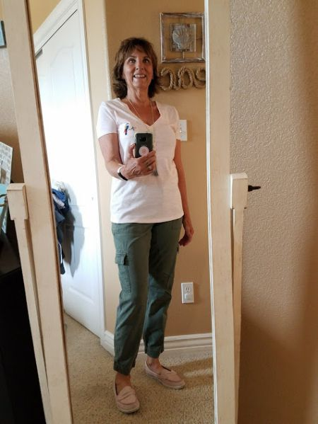 My Fashion Haus: My OLIVE Pants Fit!
