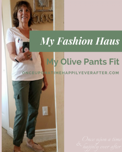 y Fashion Haus: My OLIVE Pants Fit!