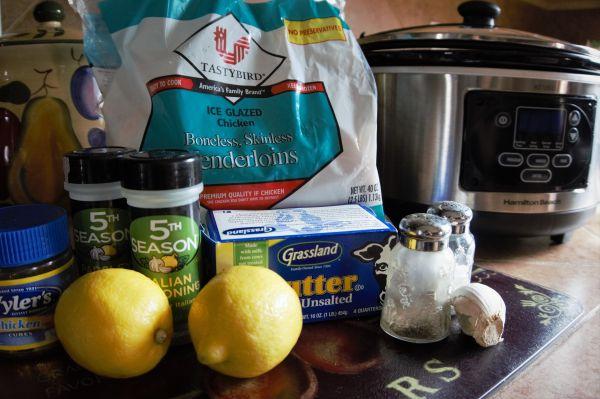Tasty Tuesday: Crock Pot Lemon Garlic Chicken