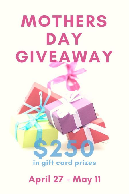 A Mother's Day and Mother's Day Giveaway