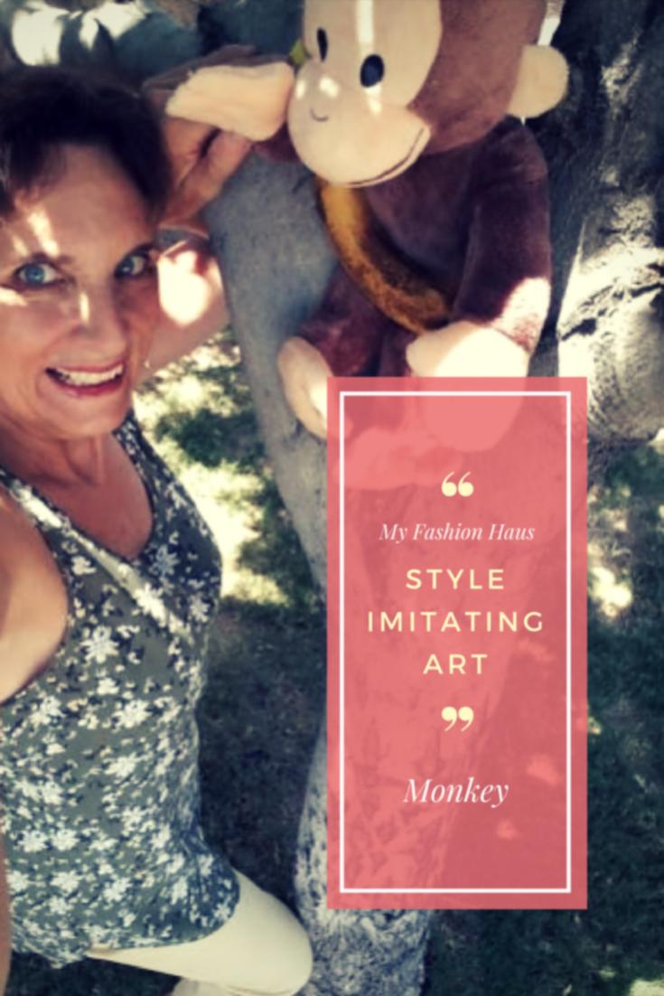 "My Fashion Haus: Style Imitating Art, ""Monkey"""