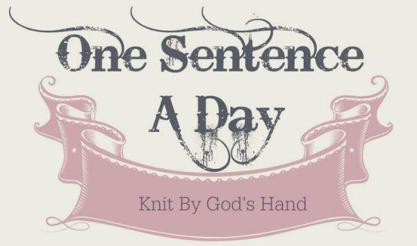 Sentence a Day, 05.2018