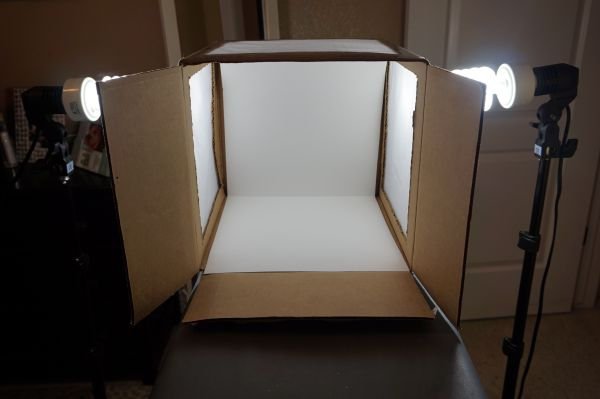DIM, Did It Myself: Pinspired Photography Light Box