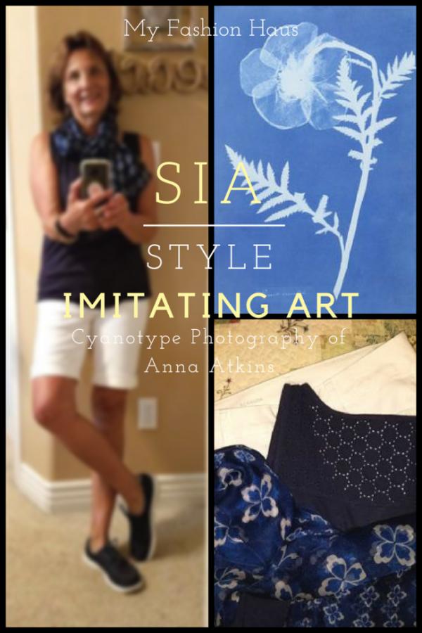 My Fashion Haus: Style Imitating Art, Anna Atkins Cyanotype Photographs