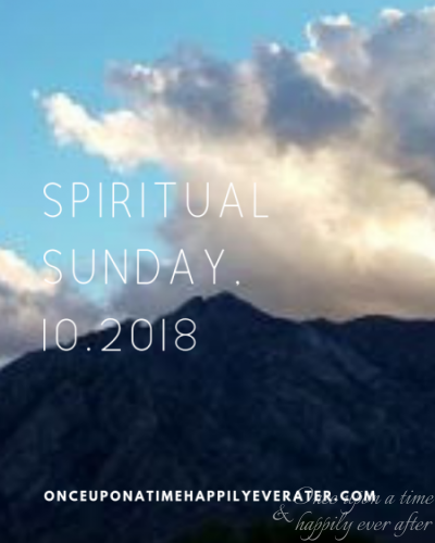 Spiritual Sunday, 10.2018