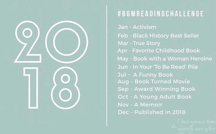 Title Talk, 10.2018 & 11.2018: Book Girl Magic Reading Challenge