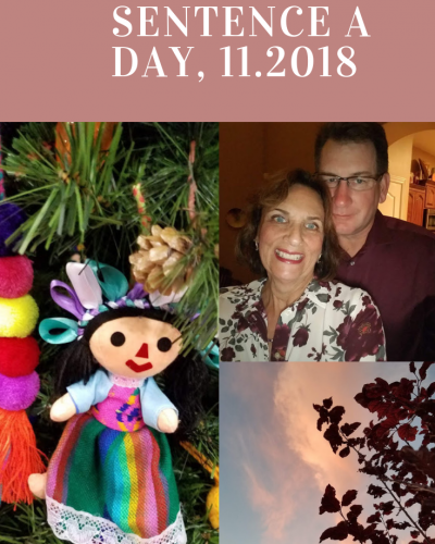 Sentence a Day, 11.2018