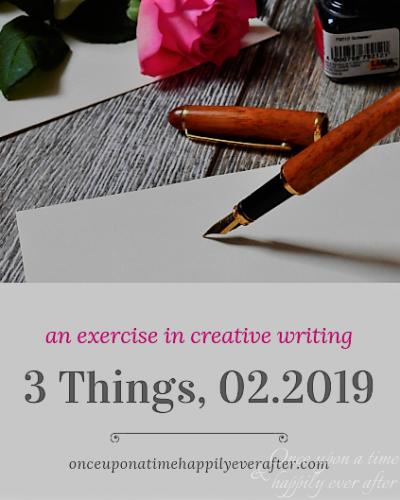 3 Things: 02.2019