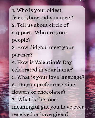 TBB Asks, 02.2019: All About Relationships