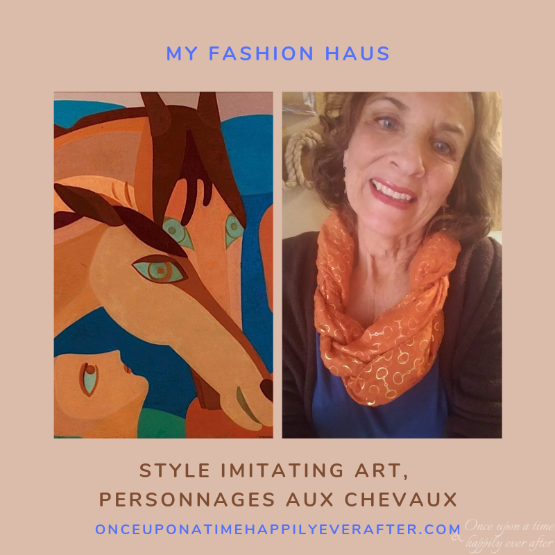 My Fashion Haus: Style Imitating Art, Personnages Aux Chevaux