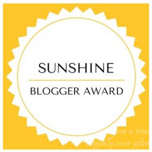 Little Miss Sunshine: Sunshine Blogger Award