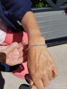 In Love: Anjolee Diamond Tennis Bracelet
