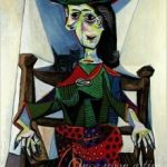 "Picasso's, ""Dora Maar with Cat"""