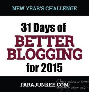31DaysofBetterBlogging