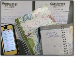 Planners, agendas, goal focus forms, calendars
