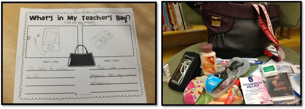 Worksheet and goodies from my newest Miche purse.