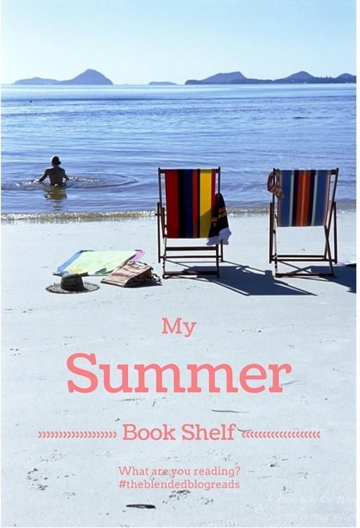 My Summer Book Shelf, 8.16