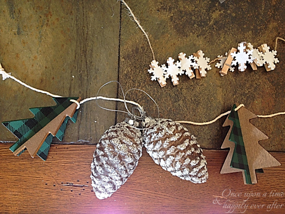 DIM: Creating an Easy Winter Garland