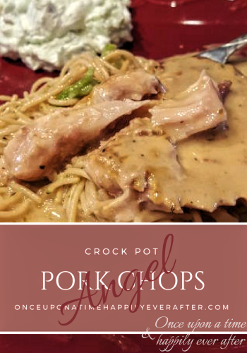 Tasty Tuesday: Crock Pot Angel Pork Chops
