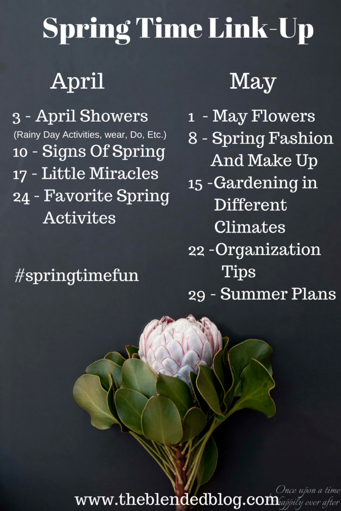 Spring Time Fun: Little Miracles & Link-Up