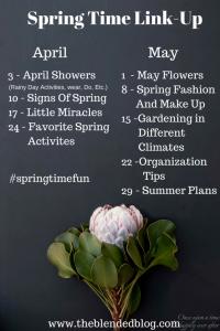 TBB Spring Time Fun Series: Signs of Spring, 4.10.2017