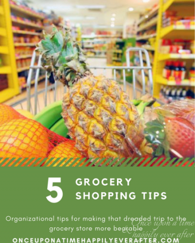 TBB Spring Time Fun Series: 5 Grocery Shopping Organization Tips, 5.22.2017