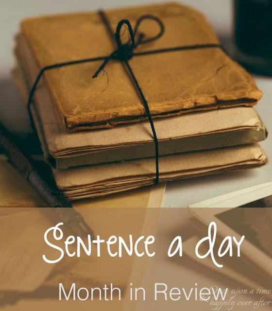 Sentence a Day, 5.2017