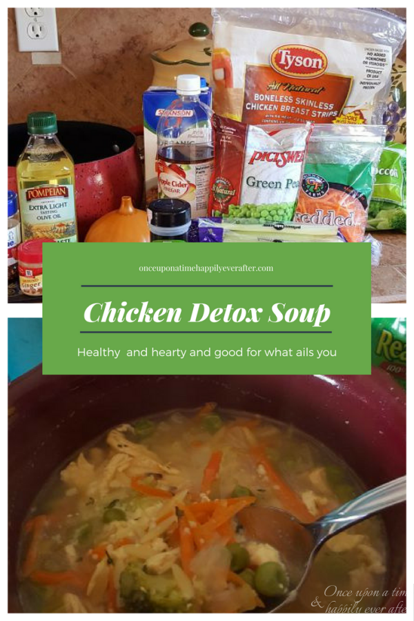 Tasty Tuesday: Chicken Detox Soup