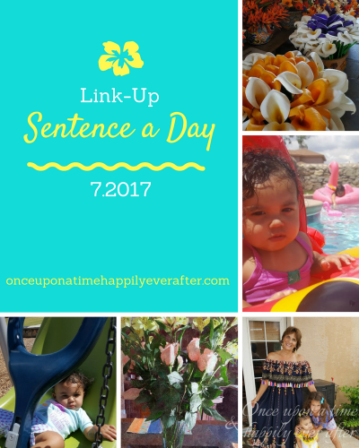 Sentence a Day, 7.2017