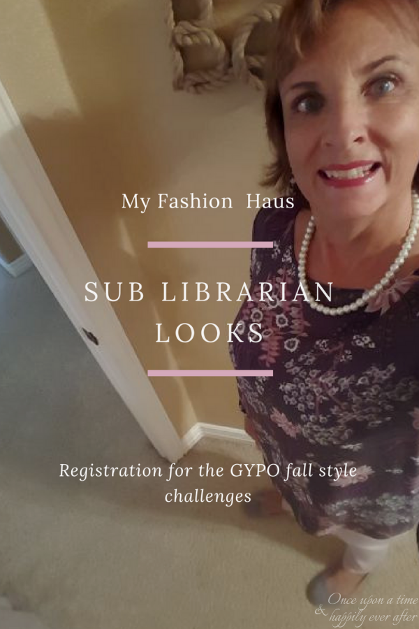 My Fashion Haus: Sub Librarian Looks, 9.14.2017