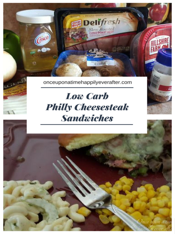 Tasty Tuesday: Low Carb Philly Cheesesteak Sandwiches