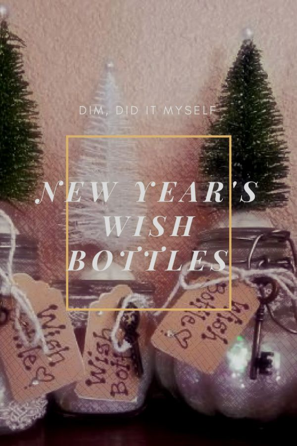 Christmas By Myself This Year.Dim Did It Myself New Year S Wish Bottles Once Upon A