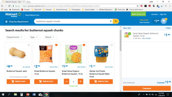 asty Tuesday: Walmart Grocery Pick-Up Service