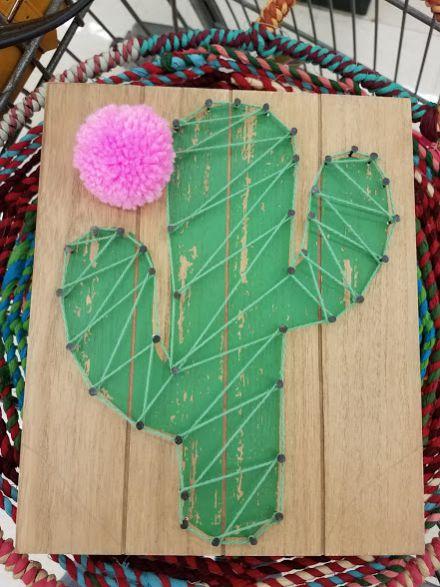 DIM, Did It Myself: Pinspired Cactus String Art